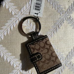Coach Accessories - Coach key chain New with tag